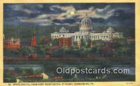 cap002072 - Harrisburg, Pennsylvania, PA  State Capital, Capitals Postcard Post Card USA