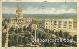 cap002073 - Harrisburg, Pennsylvania, PA  State Capital, Capitals Postcard Post Card USA