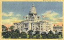 cap002074 - Providence, Rhode Island, RI State Capital, Capitals Postcard Post Card USA