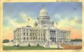 cap002075 - Providence, Rhode Island, RI State Capital, Capitals Postcard Post Card USA