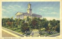 cap002084 - Nashville, Tennessee, TN State Capital, Capitals Postcard Post Card USA