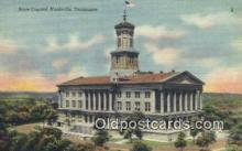 cap002086 - Nashville, Tennessee, TN State Capital, Capitals Postcard Post Card USA
