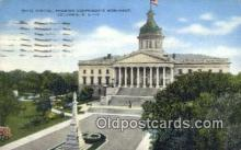 cap002089 - Columbia, South Carolina, SC State Capital, Capitals Postcard Post Card USA