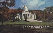 cap002094 - Montpelier, Vermont, VT State Capital, Capitals Postcard Post Card USA