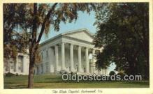 cap002103 - Richmond, Virginia, VA  State Capital, Capitals Postcard Post Card USA