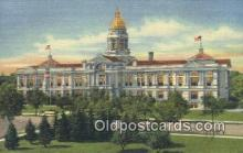 cap002111 - Cheyenne, Wyoming, WY  State Capital, Capitals Postcard Post Card USA