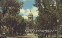 cap002112 - Cheyenne, Wyoming, WY  State Capital, Capitals Postcard Post Card USA