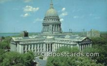 cap002116 - Madison, Wisconsin, WI State Capital, Capitals Postcard Post Card USA