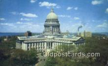 cap002119 - Madison, Wisconsin, WI State Capital, Capitals Postcard Post Card USA