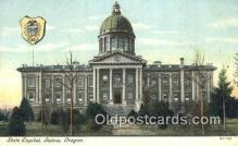cap002126 - Salem, Oregon, OR  State Capital, Capitals Postcard Post Card USA