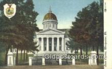 cap002132 - Montpelier, Vermont, VT State Capital, Capitals Postcard Post Card USA