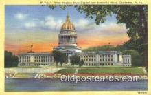 cap002139 - Charleston, West Virginia, WV State Capital, Capitals Postcard Post Card USA