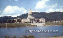 cap002150 - Charleston, West Virginia, WV State Capital, Capitals Postcard Post Card USA