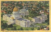 cap002152 - Charleston, West Virginia, WV State Capital, Capitals Postcard Post Card USA