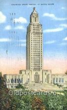 cap002159 - Baton Rouge, Louisiana, LA  State Capital, Capitals Postcard Post Card USA