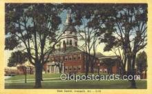 cap002161 - Annapolis, Maryland, MD State Capital, Capitals Postcard Post Card USA