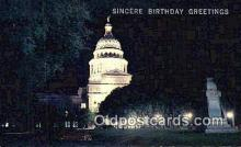cap002163 - Austin, Texas, TX State Capital, Capitals Postcard Post Card USA
