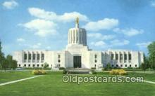 cap002167 - Salem, Oregon, OR  State Capital, Capitals Postcard Post Card USA