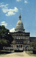 cap002173 - Lansing, Michigan, MI  State Capital, Capitals Postcard Post Card USA
