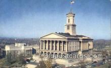 cap002182 - Nashville, Tennessee, TN State Capital, Capitals Postcard Post Card USA
