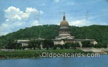 cap002186 - Charleston, West Virginia, WV State Capital, Capitals Postcard Post Card USA