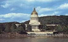 cap002187 - Charleston, West Virginia, WV State Capital, Capitals Postcard Post Card USA