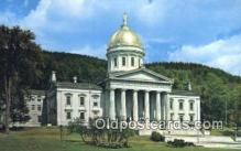 cap002190 - Montpelier, Vermont, VT State Capital, Capitals Postcard Post Card USA