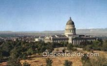 cap002192 - Salt Lake City, Utah, UT  State Capital, Capitals Postcard Post Card USA