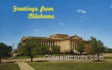 cap002196 - Oklahoma City, Oklahoma, OK State Capital, Capitals Postcard Post Card USA