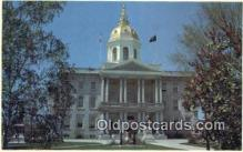 cap002206 - Concord, New Hampshire, NH State Capital, Capitals Postcard Post Card USA