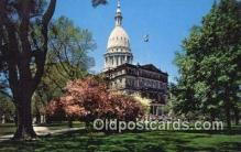 cap002214 - Lansing, Michigan, MI  State Capital, Capitals Postcard Post Card USA