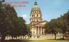 cap002224 - Topeka, Kansas, KS  State Capital, Capitals Postcard Post Card USA