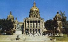 cap002227 - Des Moines, Iowa, IA State Capital, Capitals Postcard Post Card USA