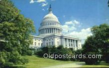 cap002240 - Washington DC State Capital, Capitals Postcard Post Card USA