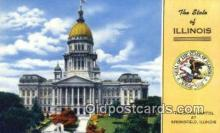 cap002248 - Springfield, Illinois, IL State Capital, Capitals Postcard Post Card USA