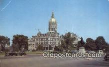 cap002257 - Hartford, Connecticut, CT State Capital, Capitals Postcard Post Card USA
