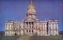 cap002258 - Denver, Colorado, CO State Capital, Capitals Postcard Post Card USA