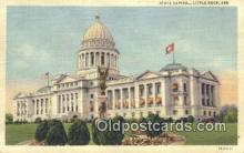 cap002270 - Little Rock, Arkansas, AR State Capital, Capitals Postcard Post Card USA