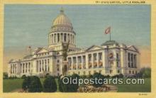 cap002271 - Little Rock, Arkansas, AR State Capital, Capitals Postcard Post Card USA