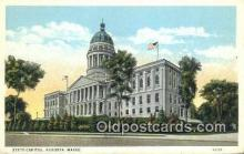 cap002273 - Augusta, Maine, ME State Capital, Capitals Postcard Post Card USA