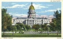 cap002275 - Denver, Colorado, CO State Capital, Capitals Postcard Post Card USA