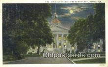 cap002279 - Tallahassee, Florida, FL State Capital, Capitals Postcard Post Card USA