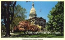 cap002286 - Lansing, Michigan, MI  State Capital, Capitals Postcard Post Card USA