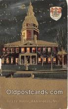 cap002310 - State House Annapolis, MD, USA Postcard Post Card