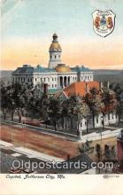cap002315 - Capitol Jefferson City, MO, USA Postcard Post Card