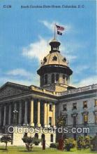 cap002321 - South Carolina State House Columbia, SC, USA Postcard Post Card