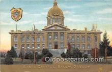 cap002325 - State Capitol Salem, Oregon, USA Postcard Post Card