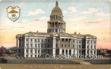 cap002335 - State Capitol Denver, Colorado, USA Postcard Post Card