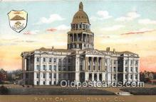 cap002337 - State Capitol Denver, Colorado, USA Postcard Post Card