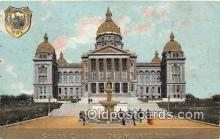 cap002345 - State Capitol Des Moines, Iowa, USA Postcard Post Card